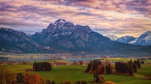 alpine  panorama  allgäu