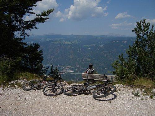 alpine  bike ride  mountain bike