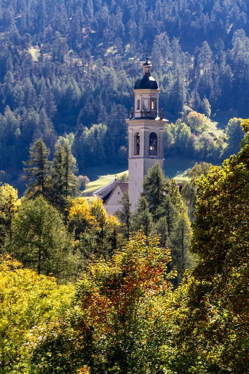 alpine  church  mountains