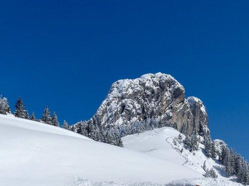 alpine  kampenwand  mountains