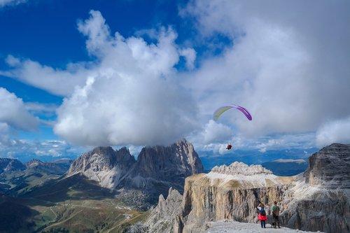 alpine  dolomites  mountains