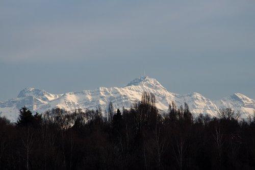 alpine  säntis  switzerland