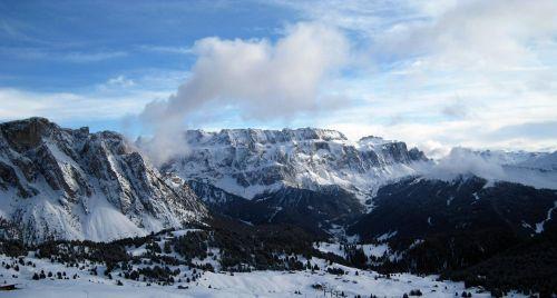 alpine alpine panorama mountains