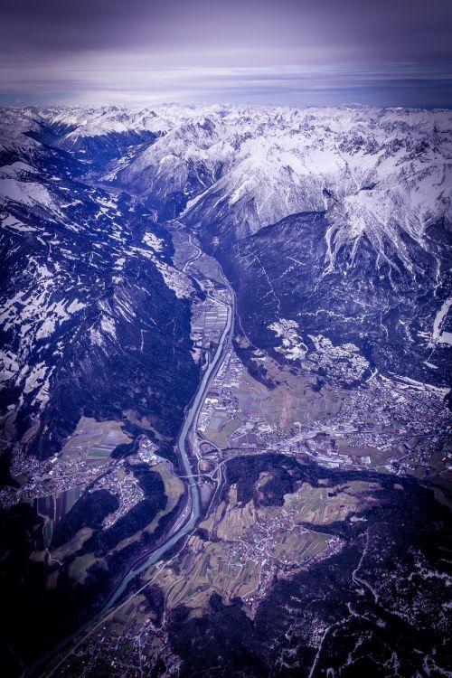alpine mountains austria