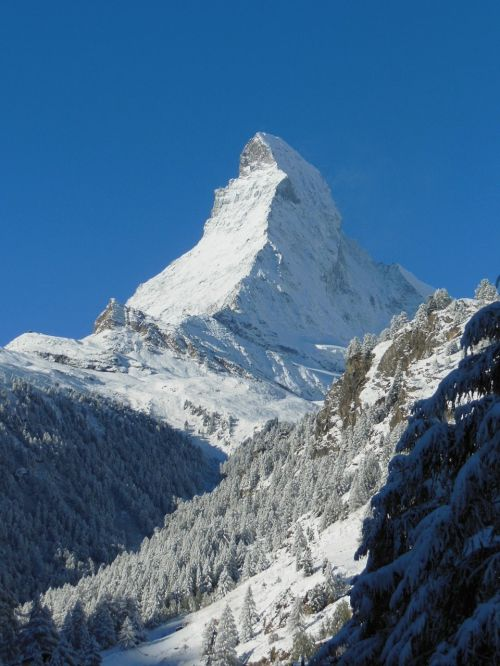 alpine mountain snow