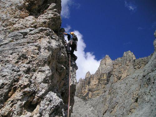 alpine climbing bergsport climb