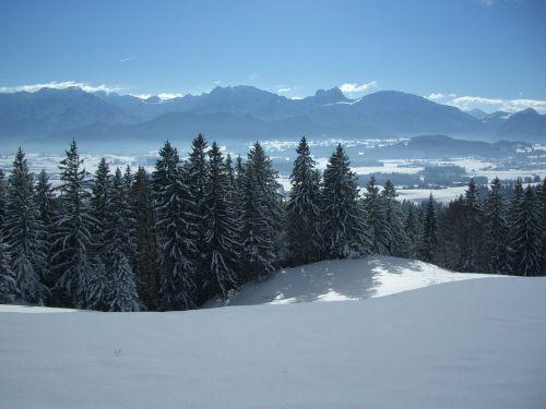 alpine panorama aggenstein breitenberg