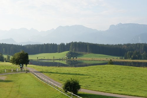 alpine panorama  alpine  allgäu