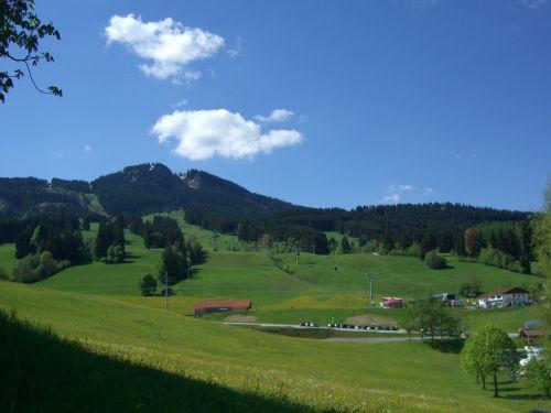 alpine pointed allgäu alpspitzbahn