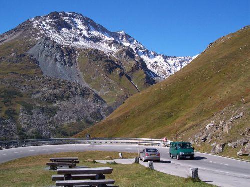 Alpių kelias,kalnų kelias,austria,Alpės,kalnas,grossglockner