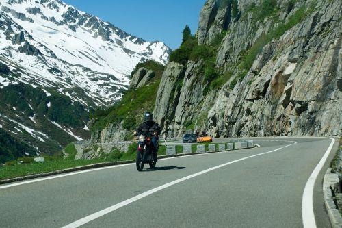 alpine road alpine pass round trip