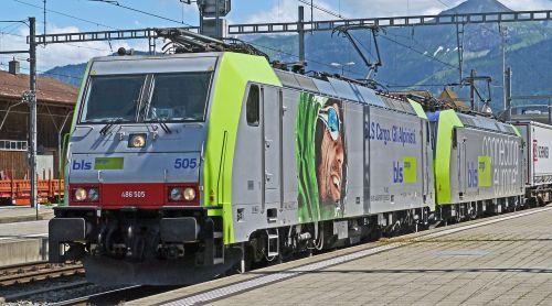 alpine transit bern-lötschberg-simplon railway bls