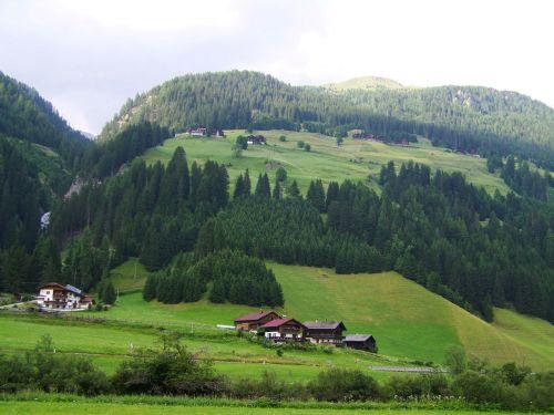 alpine village alpine scenery alps