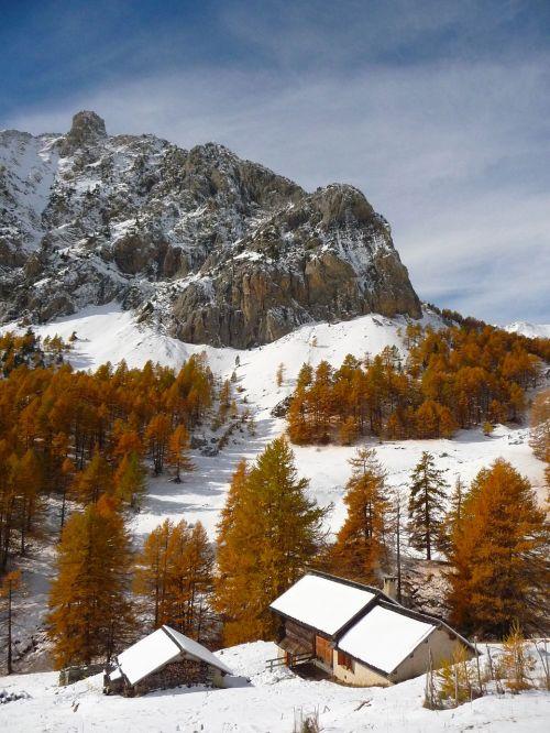 alps mountain chalet