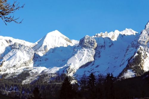 alps mont blanc points