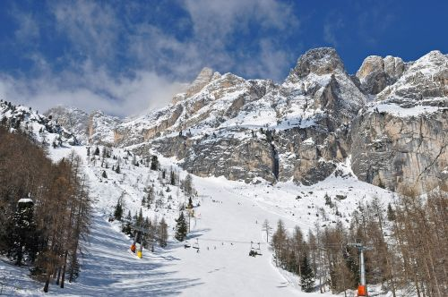 alps mountains winter