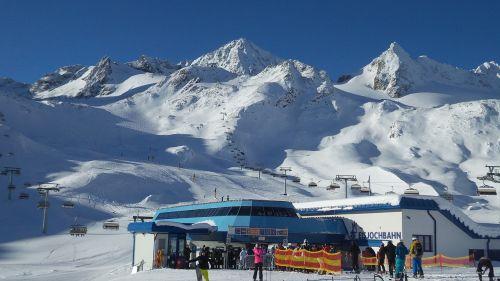 alps mountains snow