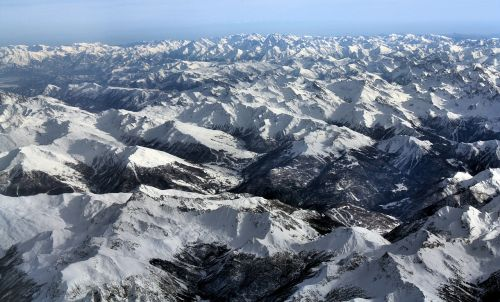 alps landscape mountains