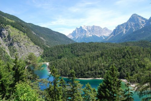 alps landscape mountain