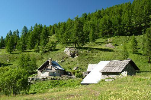 alps sheepfold hautes alpes