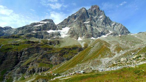 alps matterhorn nature