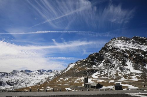 alps mountain snowy mountain