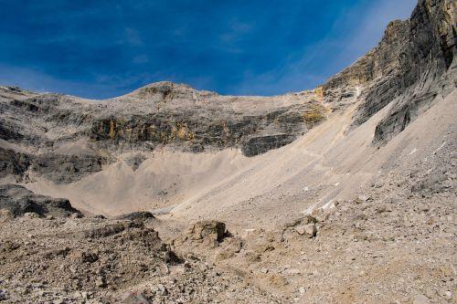 alps wasteland rock