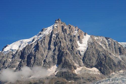 alps  mountain  mont blanc