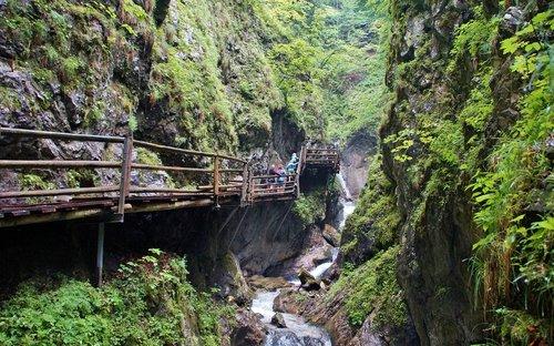 alps  austria  defile