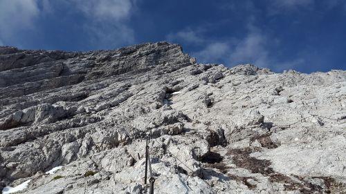 alpspitze climbing north face ferrata