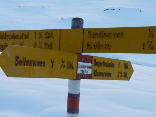 alpstein snow appenzell