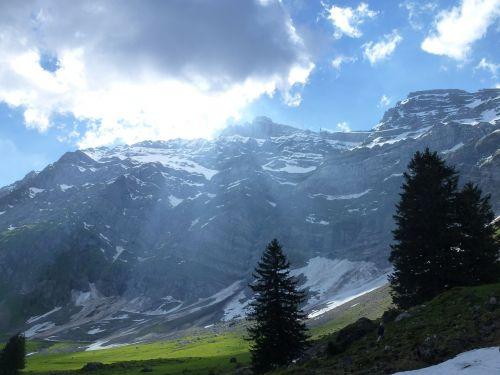 alpstein mountain switzerland