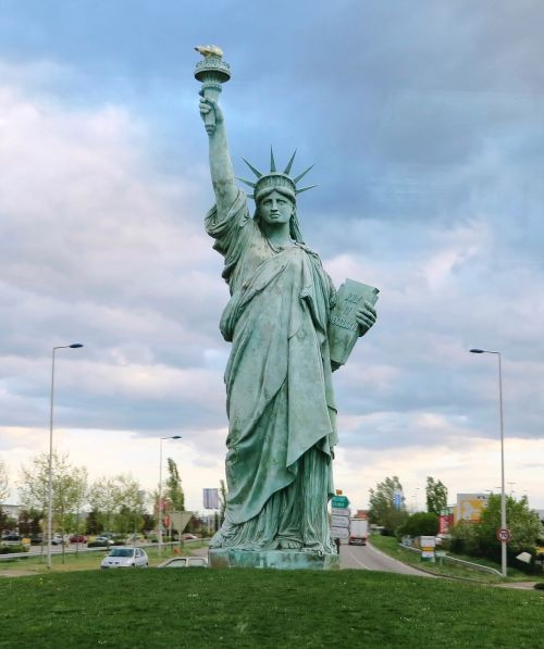 alsace freedom statue