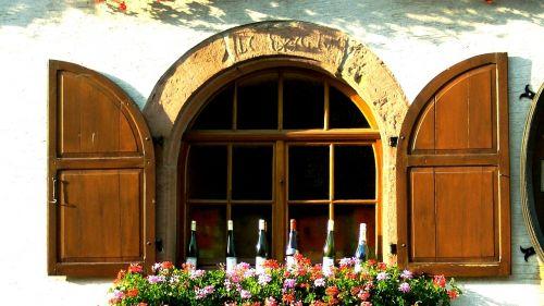 alsace wine bottles