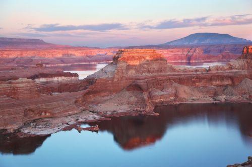 alstrom point utah lake powell sunset