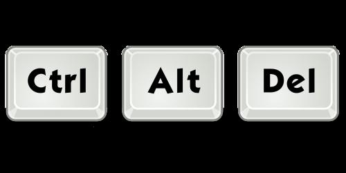 alt control delete