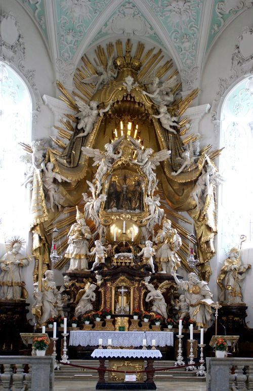 altar basilica christian