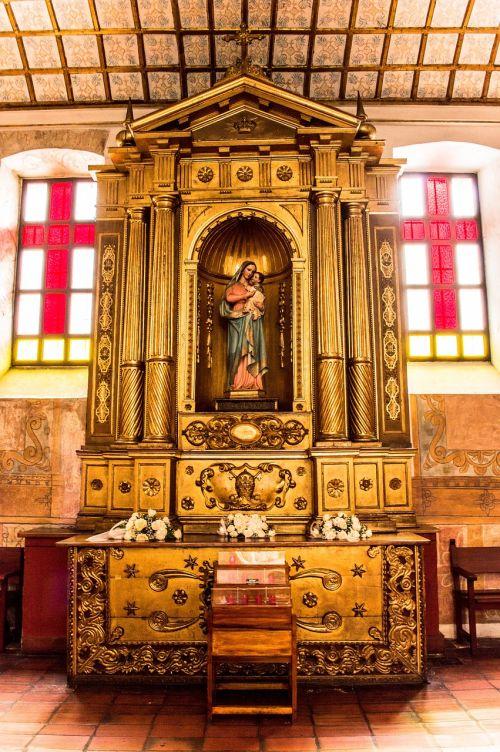 altar virgin maria