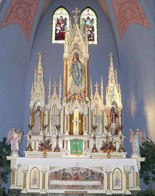 altar st mary