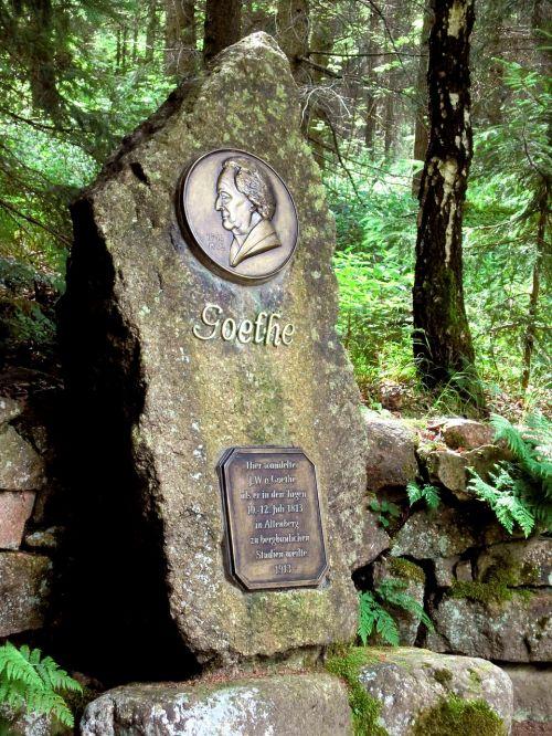 altenberg goethe memorial