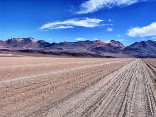 altiplano desert mountains