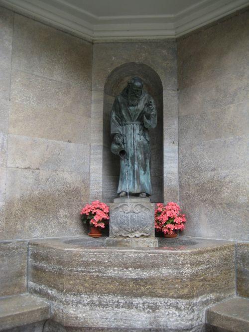 altötting brother konrad fountain