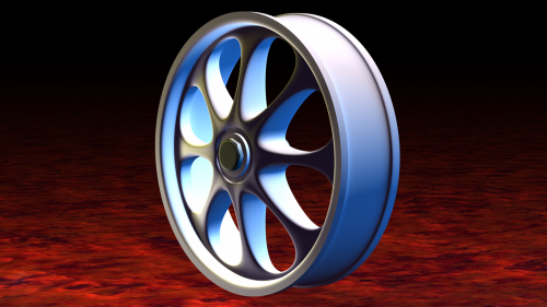 alu alloy wheel aluminium