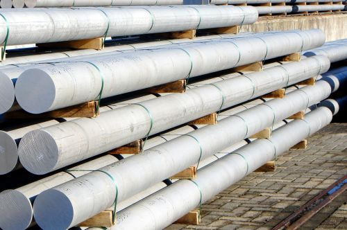aluminum rods transport