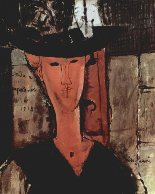 amadeo modigliani painting oil on canvas
