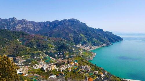 amalfi coast  costa  campania
