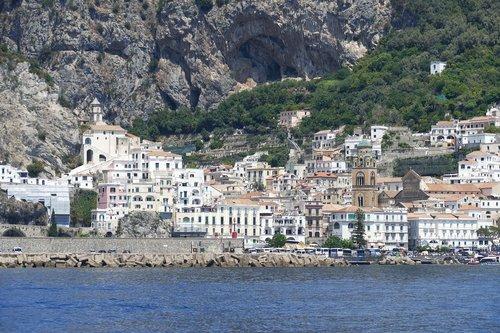 amalfi coast  italy  coast