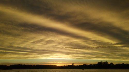 amazing glorious sunset