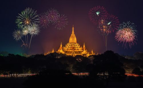fireworks amazing ancient