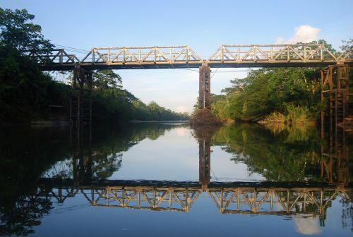 amazon bridge reflection